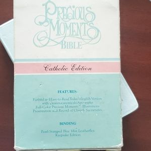 Precious Moments Other - Precious Moments Catholic Bible